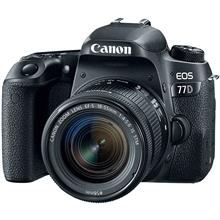 Canon EOS 77D With 18-55mm STM Lens Digital Camera